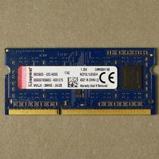 Kingston KCP3L16SS8/4 4GB DDR3L 1600MHz Non ECC RAM Memory SODIMM Pre-Owned