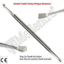 Sarro herramienta de eliminación de dientes de perro Diente descalcificador Pet Grooming Tools mejorado Nuevo