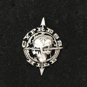 Vintage Licensed 1992 Cypress Hill Pin 3D Metal Badge Enamel Sticker Shirt