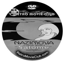 Salome (1923) Art Film, Nazimova in Oscar Wilde's Silent Movie Dvd
