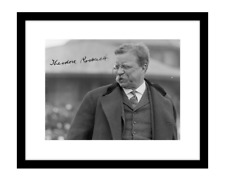 Theodore Roosevelt 8x10 Signed Photo TR Teddy Autographed President Poster