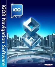 Igo8 Europa Premium Navigationssoftware Here® Q2-2017 Oktober