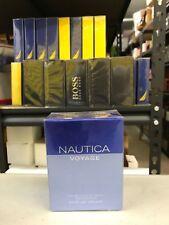NAUTICA VOYAGE 3.4 oz / 100 ml EAU DE TOILETTE SPRAY MEN NEW IN BOX SEALED