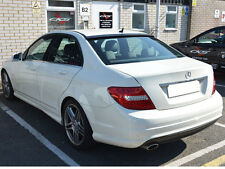 Mercedes W204 C Class Roof Spoiler Wing AMG STYLE Saloon Sedan Limo