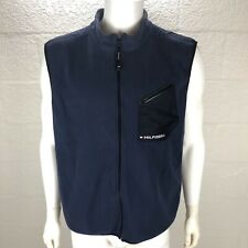 Tommy Hilfiger Fleece Vest NWOT Blue Men XL