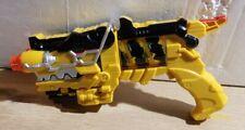 Power Rangers Yellow Dino Super Charge Morpher Blaster Gun
