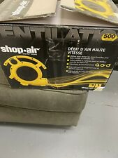 Shop-Vac Shop Air 1032000 Mini Fan Yellow Open Box Item Works Great. NEW