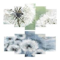 Dandelion 5D Full Drill Diamond Painting Craft 5-pictures Kit Cross Stitch Decor