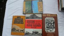 VIA WESTERN EXPRESS STAGECOACH  covered wagons STATIONS WEST
