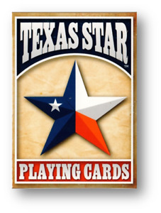 Texas Star Playing Cards by USPCC Bicycle Quality Poker Spielkarten