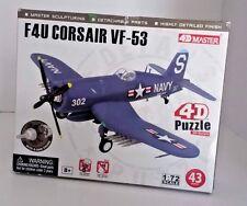 F4U Corsair VF-53 Model Aeroplane Puzzle 4D Master F4 Airplane model high detail