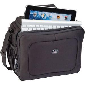 Tamrac Zuma 4 Camera iPad Netbook Shoulder Bag in Black #5724 (UK Stock) BNIP