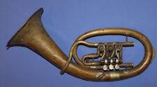 Vintage Czechoslovakian Lignatone Brass Tuba Horn