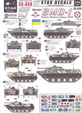 Star Decals 1/35 SOVIET BMD-1 in UKRAINE MOLDAVA, RUSSIA, & KFOR Service
