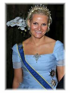 4 Postkarten Prinzessin Mette-Marit von Norwegen