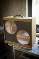 Bandmaster Bassman Twin Tweed cabinet 5E7 5F6 5F6a 5E8a