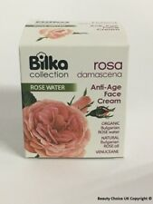 Bilka Rosa Damascena Rose Face Cream 40ml Anti-Age Effect Natural Rose Oil