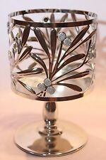 BATH & BODY WORKS HOLLY BERRY PEDESTAL LARGE 3-WICK CANDLE HOLDER SLEEVE 14.5