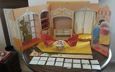 Vintage 1962 Barbie Fashion Shop - Cardboard Playset - Excellent - Complete