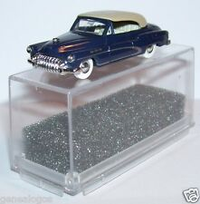 MICRO PRALINE HO 1/87 BUICK 50 CABRIOLET FERME VIOLET IN BOX