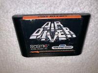 Air Diver (Sega Genesis, 1990) Seismic Game Cartridge Vr Nice!