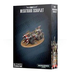 Warhammer 40k - Orks Megatrakk Scrapjet - Brand New in Box! - 50-36