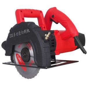 220V Electric Cutting Machine Concrete Wood Stone Tile Cutting Saw Circular Saw