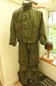 RAF Military Grey MK3 Aircrew Suit Smock Uniform Cold Weather Trousers (5324)