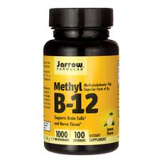 Jarrow Formulas, Inc. Methyl B-12 Methylcobalamin 1,000 mcg 100 Lozenges