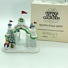 Dept 56 North Pole Gate 56324 Heritage Village
