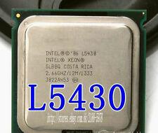 Free shipping Intel Xeon L5430 SLBBQ LGA 771 2.66 GHz 1333 MHz Quad-Core CPU