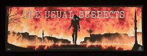The Usual Suspects Matt Ferguson #46/65 Poster Print BNG Artist Odd City