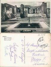 POMPEI - CASA DEL FAUNO DANZANTE      (rif.fg.11125)