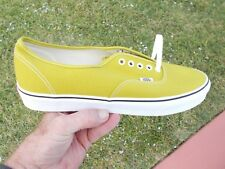 VANS Authentic CRESS GREEN & TRUE WHITE   Men's SKATE Shoes Size 13 NEW  IN BOX