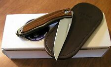 CHRIS REEVE New Left Hand Cocobolo Mnandi Gents Knife S35VN Blade Knife/Knives