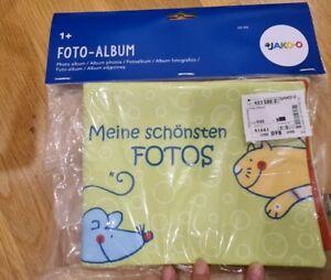 Jako-O (German brand)_ Baby soft  photo book/ album _ Made in China