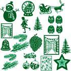 Merry Christmas Cutting Dies Stencils Scrapbooking Embossing Mold DIY Handmade