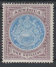 ANTIGUA 1903 ARMS 1/- WMK CROWN CC