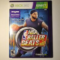 NBA Baller Beats Microsoft Xbox 360 Kinect 2012 E10+ Complete Tested/Working