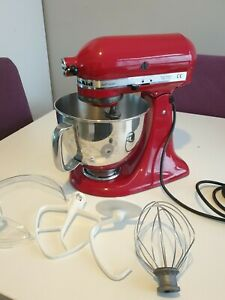 Kitchen Aid Artian Mixer.Empire Red Very Good Condition