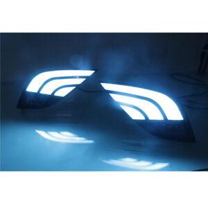 FOR 2018-2020 CAMRY SE XSE Day Running Light LED FOG LAMP Kit Three Colors
