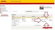 DHL 2kg Paket Deutschland - Online Gutschein einlösbar im Kauf