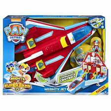 PAW Patrol MIGHTY JET COMMAND CENTER Mighty Pups Super PAWS Playset Toy