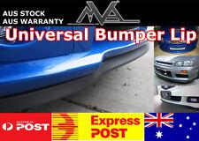 Universal Bumper Lip Spoiler Splitter for Subaru WRX GC8 GD GG GE GH GR GV GP GJ