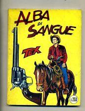 TEX # ALBA DI SANGUE # N.21 - Novembre 1965 # Araldo # Lire 250