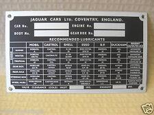 JAGUAR E-TYPE SER 1 MK2 S-TYPE 420 MK10 420G ALLOY REPRO CHASSIS JCP2