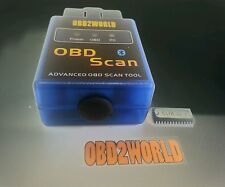 Kit completo diagnosi elettronica auto Obd2 elm329 bt sw android e pc obd2world