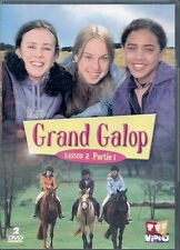 2 DVD ZONE 2--SERIE TV--GRAND GALOP--SAISON 2 PARTIE 1 / 13 EPISODES