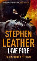 Stephen Leather Live Fire (Dan Shepherd Mystery) Very Good Book