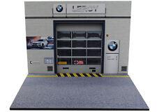 Diorama présentoir BMW Garage Leroy - 1/18ème - #18-2-E-E-013